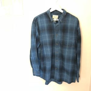 Cabela's Long Sleeved Button-Down Flannel Shirt L